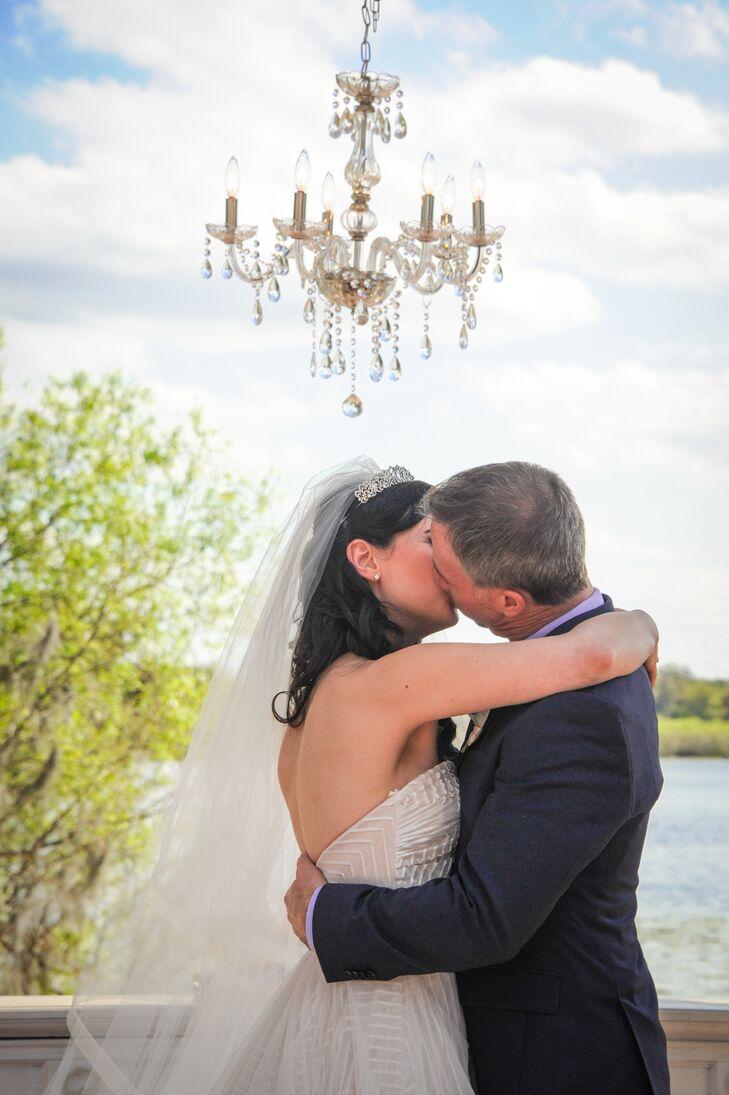 Juliana and Scott's First Kiss
