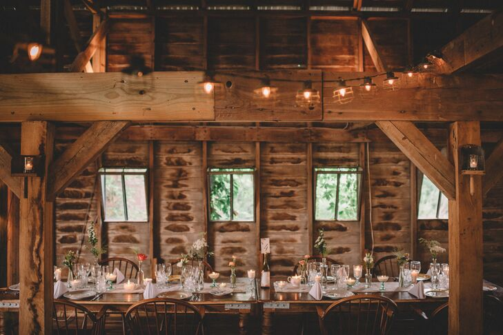 Rustic, Romantic Farm Tables