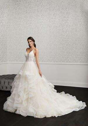 Adrianna Papell Platinum 31122 A-Line Wedding Dress