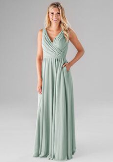 Kennedy Blue Gabby V-Neck Bridesmaid Dress
