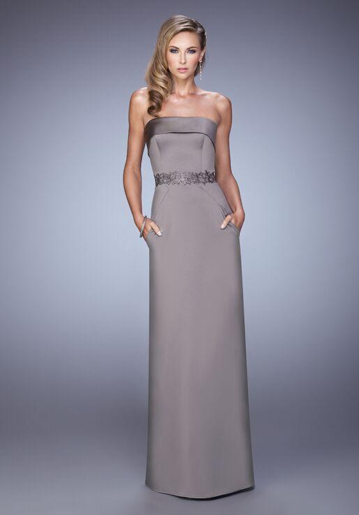 La Femme Evening 21554 Champagne Mother Of The Bride Dress