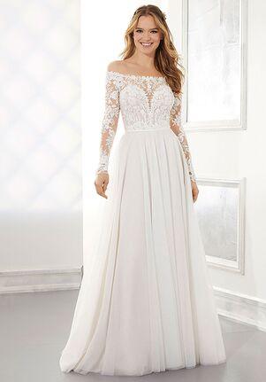 Morilee by Madeline Gardner/Blu Ashley A-Line Wedding Dress