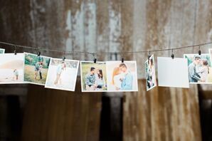 DIY Ranch Wedding, Photo String