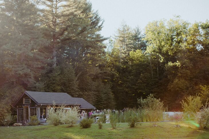 Natural Landscape at Foxfire Mountain House in Tremper, New York