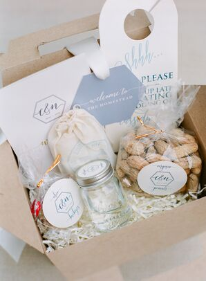 Personalized Pastel Hangover Kits