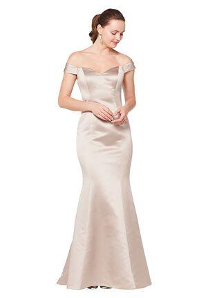 Bill Levkoff 1616 Off the Shoulder Bridesmaid Dress