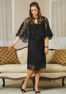 Soulmates D1107 Black Mother Of The Bride Dress