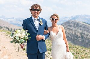 Couple Hosting Wedding in the Teton Mountains