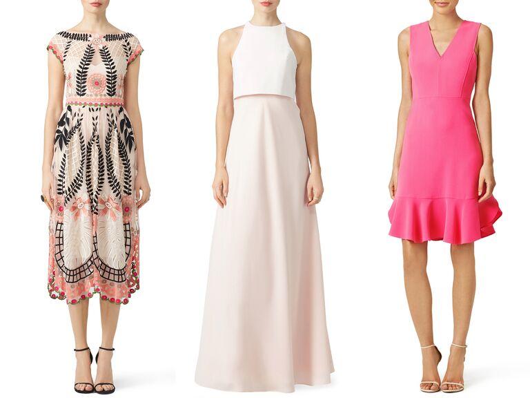 Rent the Runway pink dresses