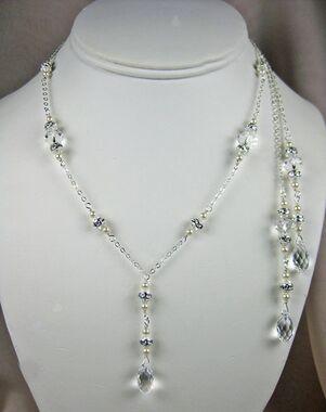 Everything Angelic Irina Lariat Necklace - L42 Wedding Necklace photo