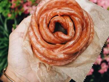 Doughflower from The Doughnut Plant bakery in New York City