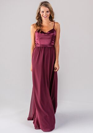 Kennedy Blue Abigail V-Neck Bridesmaid Dress