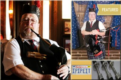 IPIPEIT Bagpiper for Hire