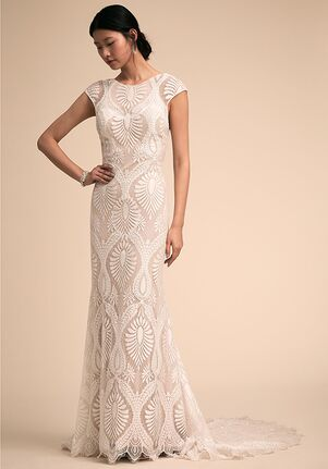 BHLDN Ludlow Gown Sheath Wedding Dress