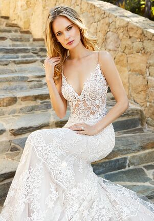 Moonlight Couture H1361A Mermaid Wedding Dress