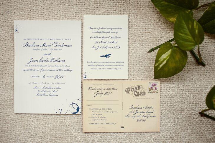 Vintage-Style Wedding Invitations