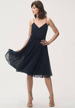 Jenny Yoo Collection (Maids) Sienna V-Neck Bridesmaid Dress