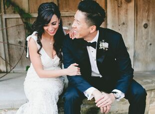 Every element of Jane Yusim (29 and a TV producer) and Stephen Wong's (38 and an entertainment attorney) wedding was purposefully planned to make ever