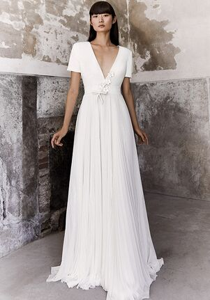 Viktor&Rolf Mariage PLISSÉ CHIFFON DREAM A-Line Wedding Dress