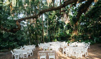 Sunken Gardens Wedding.Sunken Gardens Reception Venues St Petersburg Fl