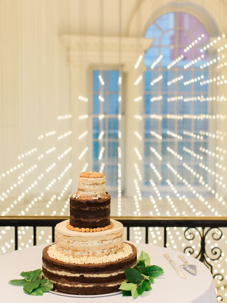 Four-Tier Naked Cake