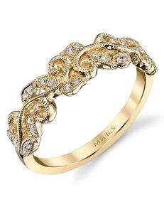 MARS Fine Jewelry MARS Jewelry 26505 Wedding Band Gold Wedding Ring