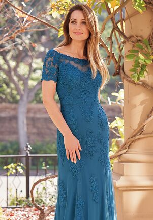 Jade Couture Mother of the Bride by Jasmine K208059 Blue Mother Of The Bride Dress