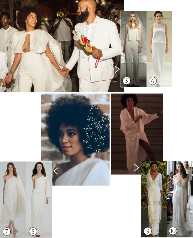 Solange Knowles Get Her Wedding Day Look