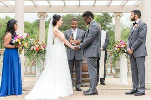 Vineyard Terrace Ceremony