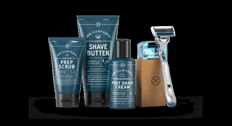 Dollar Shave Club set groomsmen gift