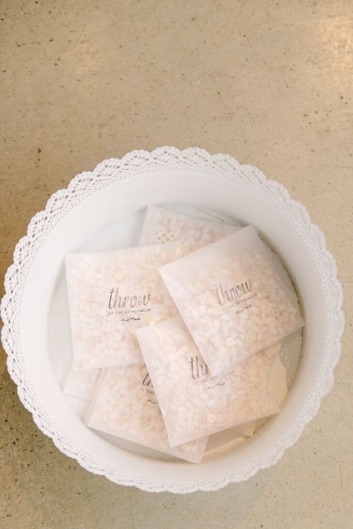Blush Confetti in Customized Packets