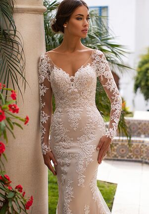 Moonlight Collection J6746 Mermaid Wedding Dress