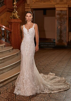 Moonlight Couture H1478 Mermaid Wedding Dress