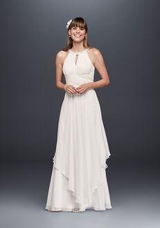 David's Bridal DB Studio Style EJ4M6307 Sheath Wedding Dress
