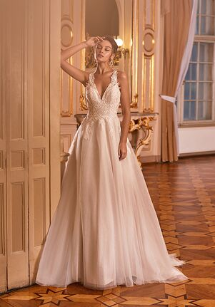 Moonlight Collection J6825 A-Line Wedding Dress