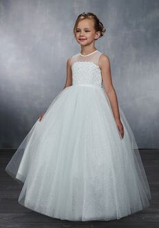 Mary's Angel by Mary's Bridal MB9045 White Flower Girl Dress