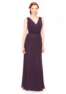 Bari Jay Bridesmaids 1970 V-Neck Bridesmaid Dress