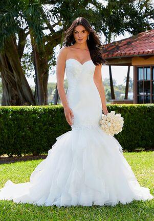Adrianna Papell Platinum 31201 Mermaid Wedding Dress