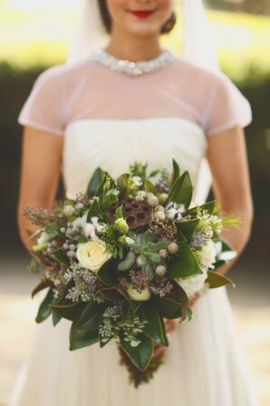 Autumn Wildflower Bridal Bouquet