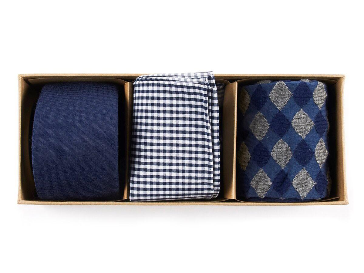 Caixinha com gravatas
