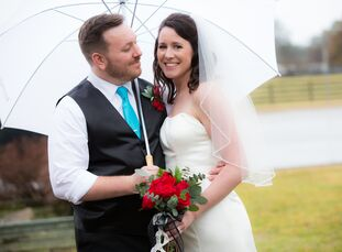 Ashley Hutchinson (36 and a registered nurse) and Joseph Vest (29 and a mortgage professional) met in a Bible group at their local church and later be