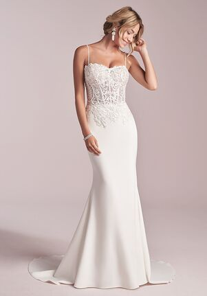 Rebecca Ingram DARBY Sheath Wedding Dress
