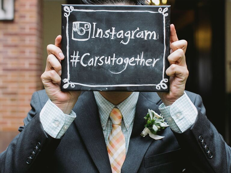The best wedding hashtag tips: how to make your own