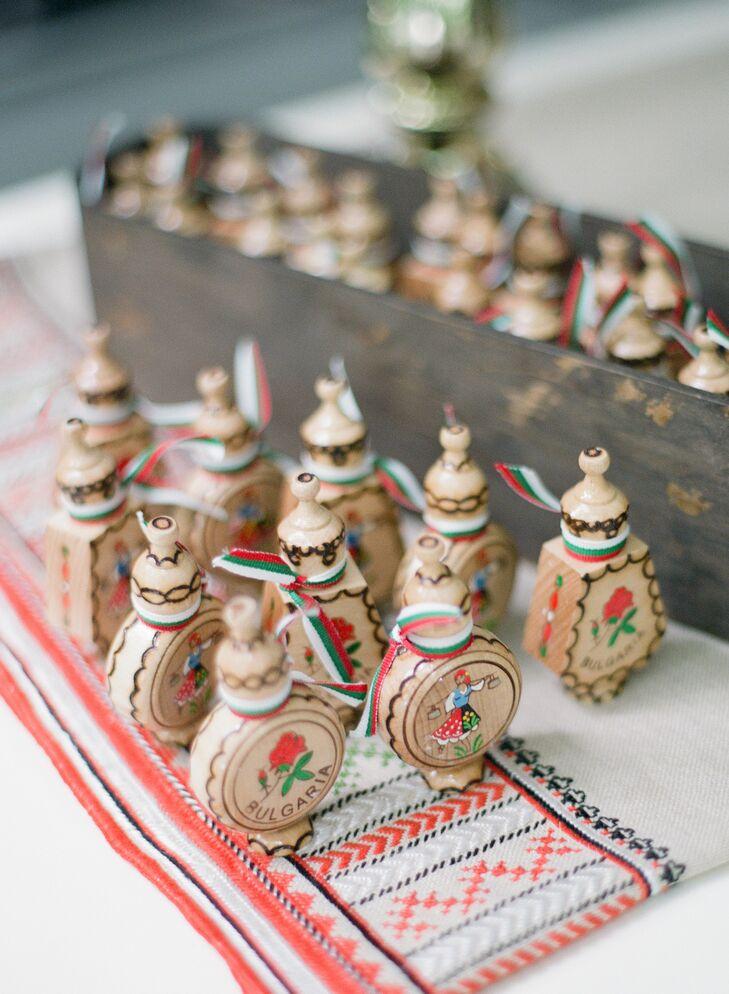 Traditional Bulgarian Rose Oil Favors