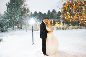 A Glamorous Winter Wedding in Colorado