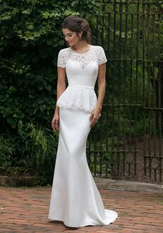 Sincerity Bridal 44040 Sheath Wedding Dress
