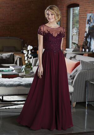 Morilee by Madeline Gardner Bridesmaids 21585 Illusion Bridesmaid Dress
