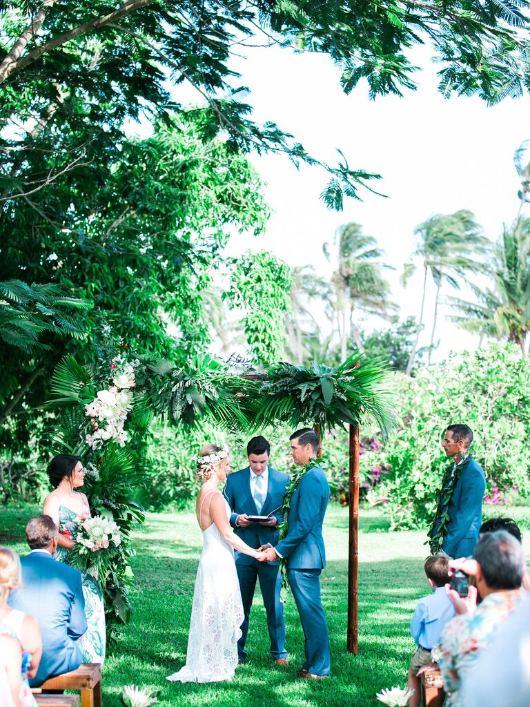 National Tropical Botanical Garden Hawaii Destination Wedding
