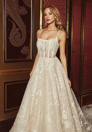 Calla Blanche 18242 Claire A-Line Wedding Dress