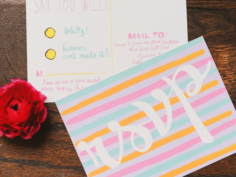 All Of Your Burning Questions About RSVP Cards Answered